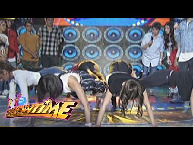 It's Showtime: Team Nadine's push-up in Cash-Ya