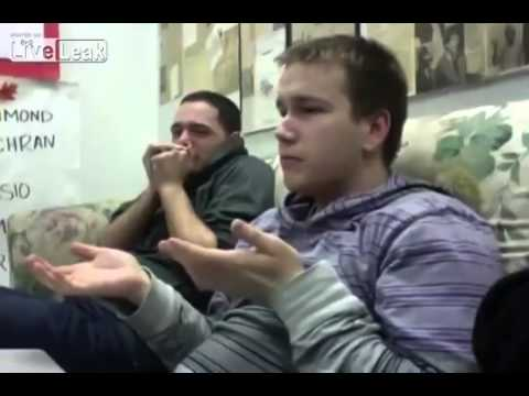 Two Guys Reaction To Woman Giving Birth - Must Watch video