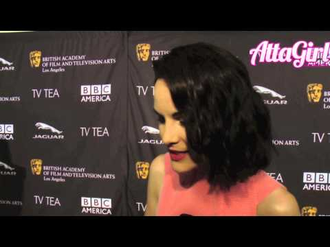 Downton Abbey's Michelle Dockery talks Emmy Awards & More