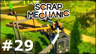 Scrap Mechanic 29  Wagonik Towarowy