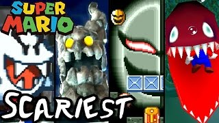 TOP 10 SCARIEST ENEMIES in Mario Games! (Wii, GC, N64, SNES)