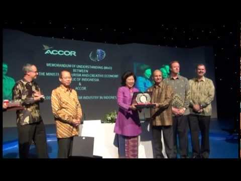 MoU Between Ministry of Tourism and Creative Economy and Accor Hotel
