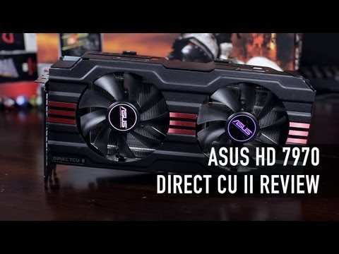 ASUS HD 7970 Direct CU II Review & Benchmark