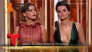 The funniest moments of the Golden Globes 2016 | Fandango | Telemundo English