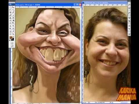 TUTORIAL PHOTOSHOP CARICATURA | Videos « PortaldeMisterios.CoM