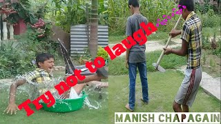 Try not to laugh|Manish chapagain|