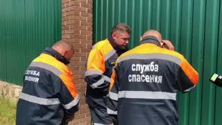 """К дому главы Серпуховского района приехали спасатели АСС """"Юпитер"""""""