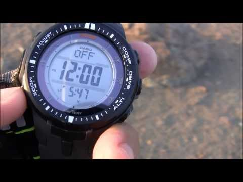 Casio ProTrek PRW3000 Watch Review