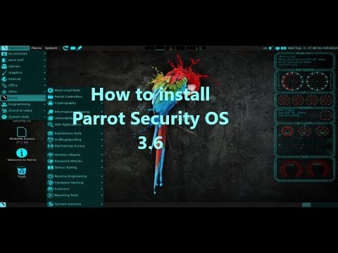 How to Install Parrot Security Operating System 3.6 on VMware Workstation 12 2017