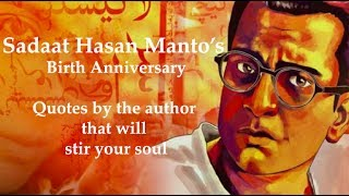 Manto's birth anniversary: Quotes by author that will stir your soul