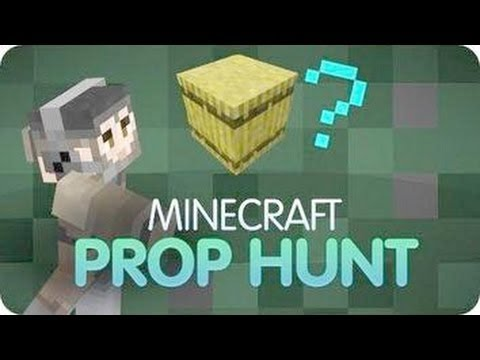 COMO JUGAR PROP HUNT EN MINECRAFT NO PREMIUM (server online) 1.6.2