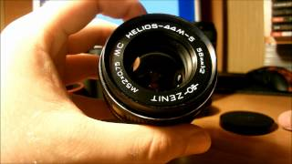 Краткий обзор Гелиос 44м-5,6,7 + Canon EOS 550d/Overview of the lens Helios 44m-5