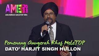 Download Lagu #AME2018 I Dato' Harjit Singh Hullon | Pemenang Anugerah Khas MeleTOP I Anugerah MeleTOP Era 2018 Gratis STAFABAND