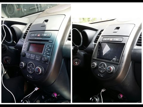 Android car stereo NU3001 installed in Kia Soul. Forget speed...gimme brains!