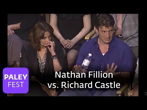 Castle - Is Nathan Fillion like Richard Castle? (Paley Center, 2010)
