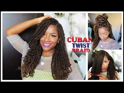 Tutorial & Styling w/ Freetress Equal Cuban Twist Hair