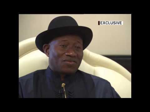 Nigerian President Jonathan Goodluck Interview