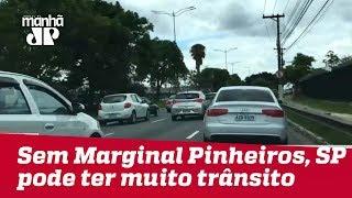 Sem Marginal Pinheiros, SP pode ter complicações sérias no trânsito a partir de quarta (21)