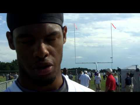 Vikings Training Camp 2012: WR Greg Childs