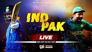 Live: Ind vs Pak Fan Chit-Chat