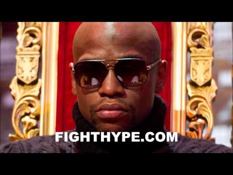 FLOYD MAYWEATHER SAYS BOTH PACQUIAO AND BRADLEY FOUGHT LIKE AMATEURS I WASNT PLEASED