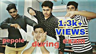 Exam Ka Mausam Vines|| people during exam || most funnest video ever|| hutiyapa examination....