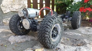 How to make a 4WD RC Car? Only use eBay parts and a little Creativity!