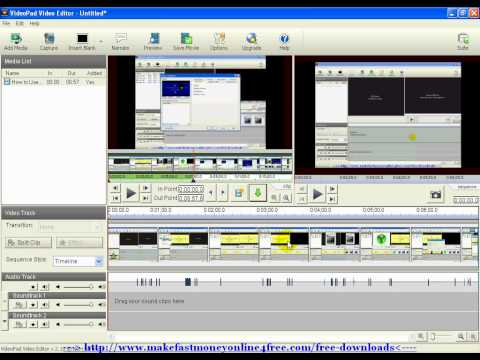 How to Use VideoPad Video Editor Editing Split Up Your Video Tutorial - TheSuperHomeWorker