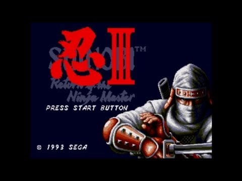 Shinobi 3 : Return Of The Ninja Master Walkthrough Sega Genesis