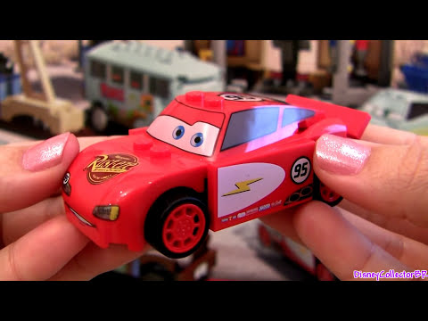 Lego Cars 2 Radiator Springs Lightning McQueen 8200 toy review how-to build Disney Pixar toys