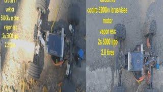 EBAY VS CASTLE CREATIONS.. BRUSHLESS MOTORS BATTLE ..GPS SPEED RUN ECX CIRCUIT VS ECX CIRCUIT