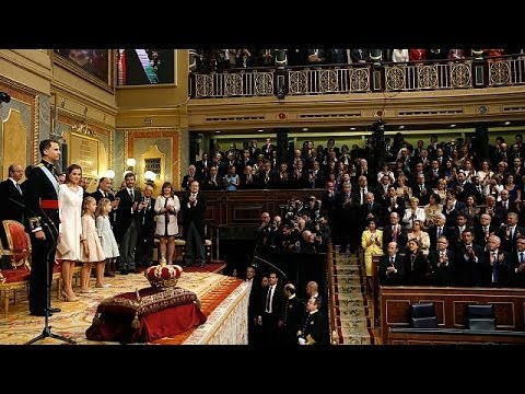 Felipe VI sworn in as king of Spain - official ceremony