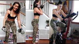 At Home Dumbbell Leg & Booty Routine
