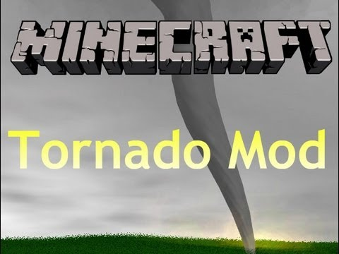 Minecraft: Tornado Mod Review 1.3.2