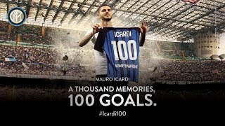 MAURO ICARDI |  All 100 Inter Goals | #Icardi100 ⚽️⚫️🔵