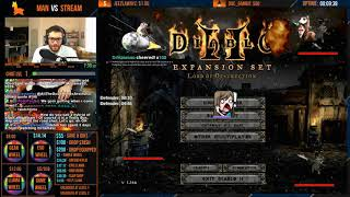 Diablo 2 - S5 MAN VS STREAM - I GAVE CHAT TOO MUCH POWER [Part 1]