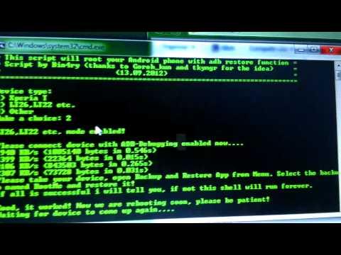 Root Y CWM Xperia U ICS Facil En ESPAÑOL