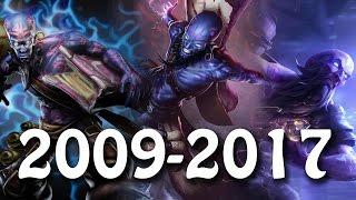 The Evolution Of Ryze [2009 - 2017] League Of Legends