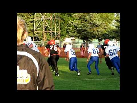 2009 Kindred High School FB vs Oakes