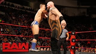 Big Show vs. The Shining Stars - 2-on-1 Handicap Match: Raw, Feb. 27, 2017