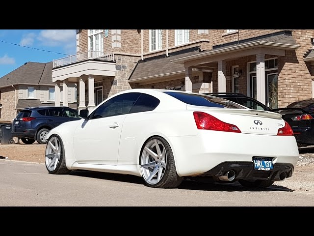 MODDED Infiniti G37s Rohanna RC7 with Diffuser ... - YouTube