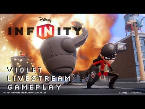 Disney Infinity Violet Incredibles Play Set Pack Livestream