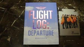 Unboxing Got7      Monograph Flight Log Departure Photobook  Dvd