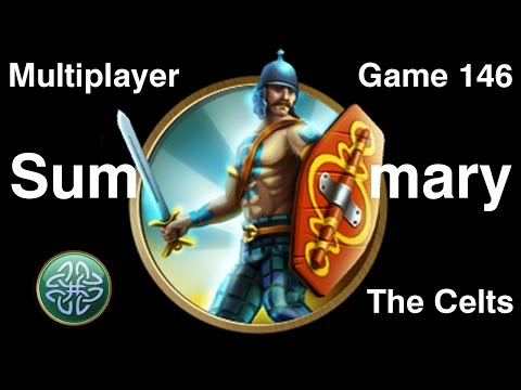 Civilization 5 Multiplayer 146: Celts [Summary] ( BNW 6 Player Free For All) Gameplay/Commentary