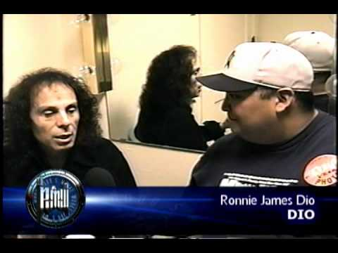 RONNIE JAMES DIO on Robbs MetalWorks