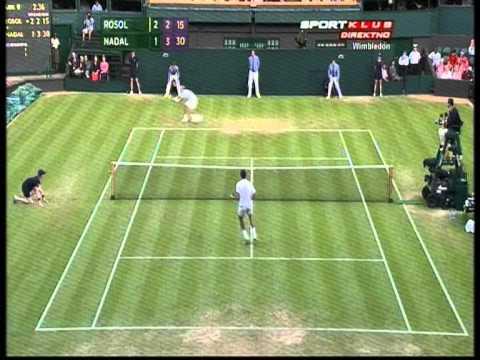 Rafael Nadal vs Rosol Wimbledon 2012 HD