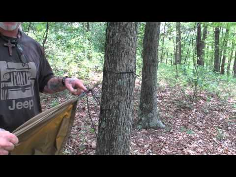 Pathfinder Product Review 7 The Convertable Trail Tarp.wmv