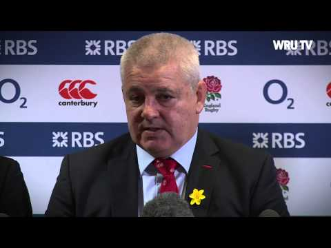 Warren Gatland's Reaction after England v Wales 2014 | WRU TV