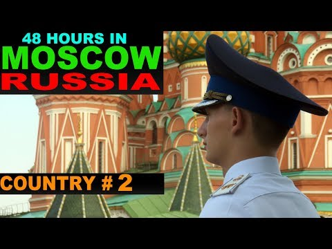 A Tourist's Guide to Moscow, Russia