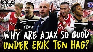 How Ajax Under Erik Ten Hag Are The Champions League's Surprise Package   Tactics Explained